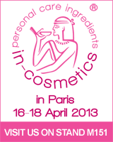 Link to In-Cosmetics Website